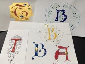 Illuminated Letters Workshop