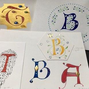 Illuminated Letters Workshop