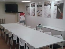 Learning Calligraphy Session Room