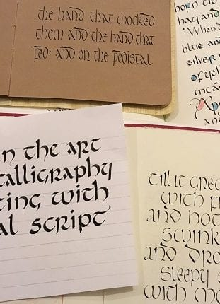Beginners & Experienced Calligraphers