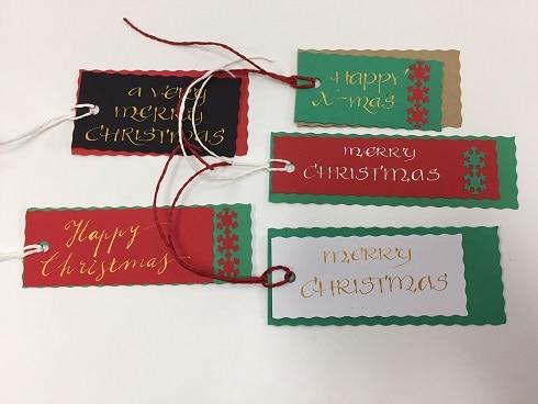 Christmas Gift Tag Workshop