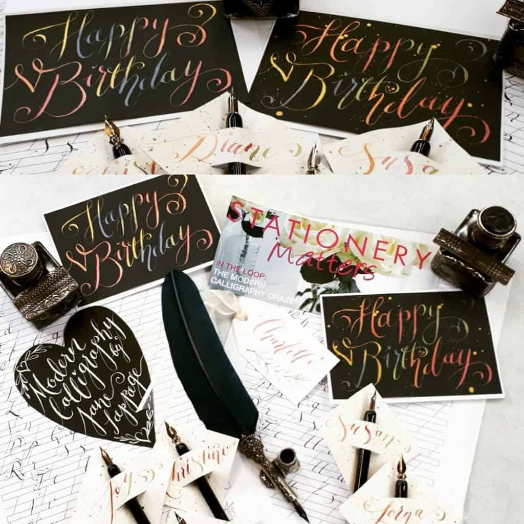 Modern Calligraphy Jane Lappage