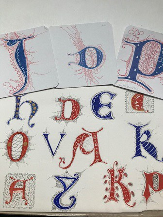 Filigree Lettering Portfolio